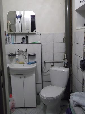 Capsella Metamorfoza łazienki Z Użyciem Farb Renowacyjnych