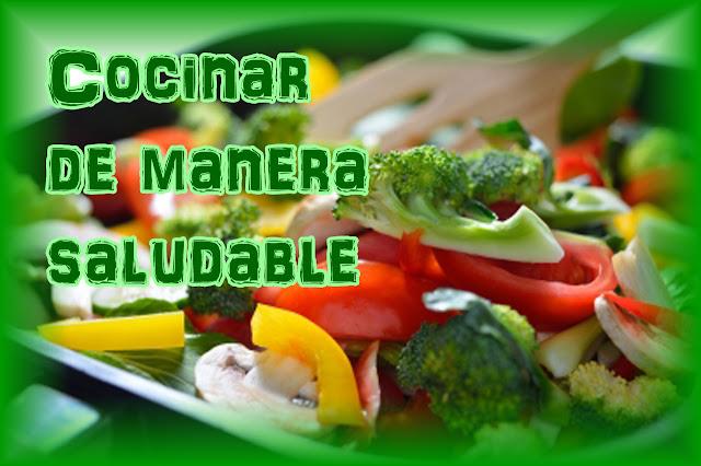 Comida saludable. Cocinar saludable.