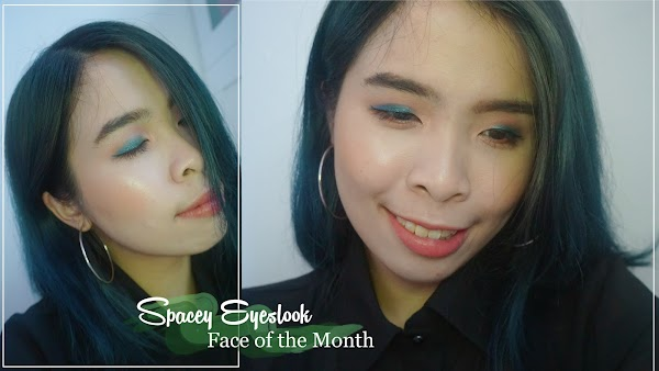 Spacey Eye-look Face of the Month with COLOURPOP