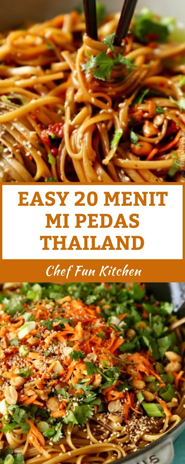 EASY 20 MENIT MI PEDAS THAILAND