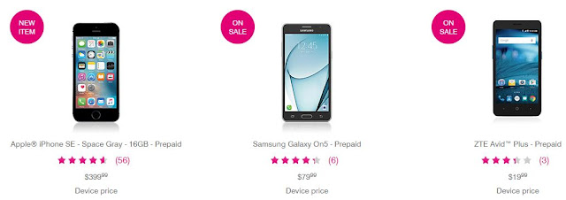 T- Mobile affordable cell phones
