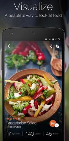 Best cooking and recipe apps for android diarynesia if you have two android devices you can sync it only with login to yummly or register and all of your devices will be sync automatically forumfinder Image collections