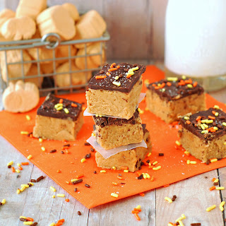 Maple Pumpkin Fudge by The Sweet Chick