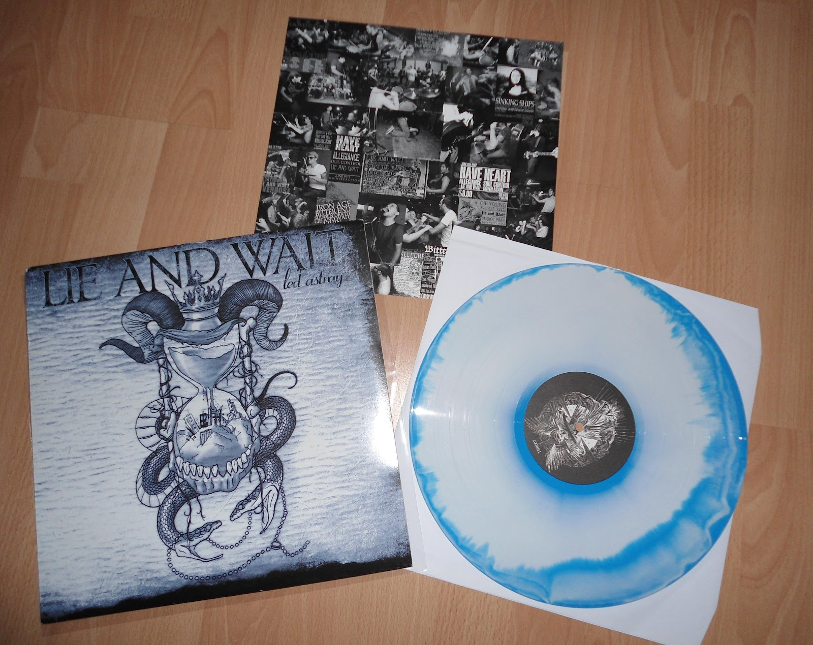 Led You Astray Hardcore Metal Vinyl Triple B Lie And Wait