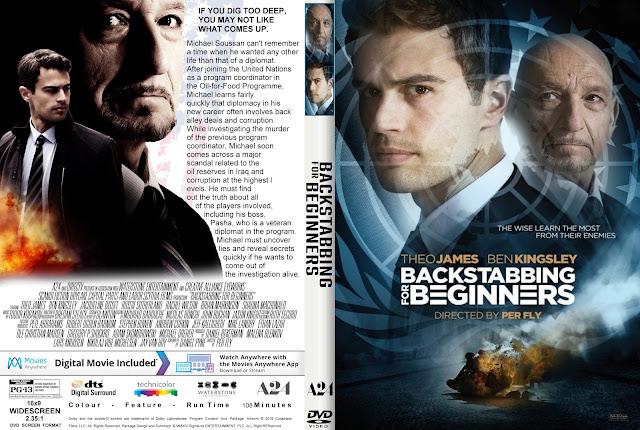 Backstabbing for Beginners DVD Cover