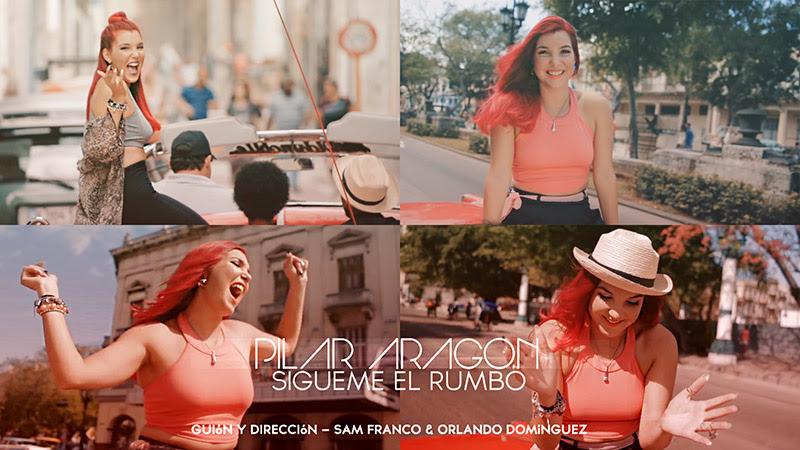 Pilar Aragón - ¨Sígueme el Rumbo¨ - Videoclip - Dirección: Sam Franco - Orlando Domínguez. Portal Del Vídeo Clip Cubano - 01