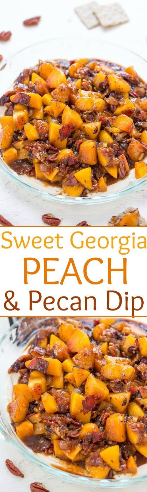 Sweet Georgia Peach and Pecan Dip