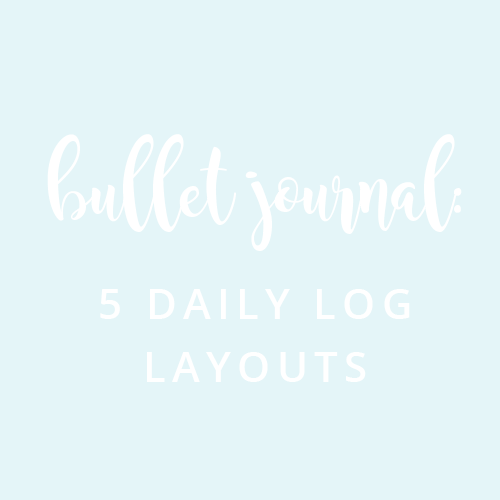 5 Daily log layouts