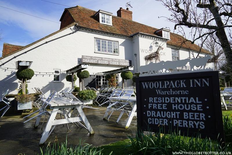 The Woolpack Inn in Warehorne, Kent