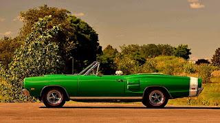 1969 Dodge Hemi Coronet RT Convertible Side