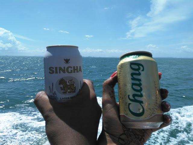 Singha Chang beer thailand