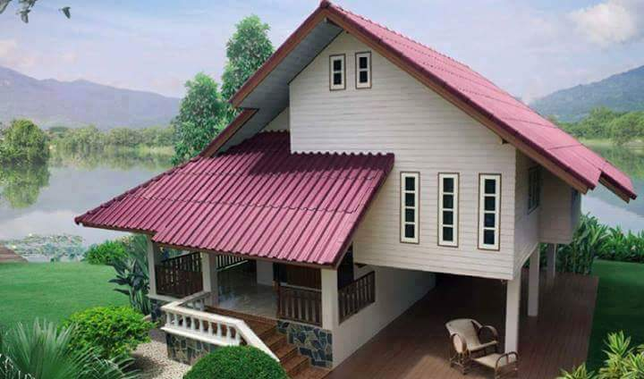 Banco de imágenes: cabañas y casitas de madera con diseño de ...