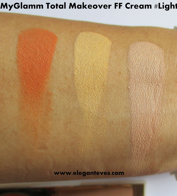 MyGlamm Total Makeover FF Cream light review swatch