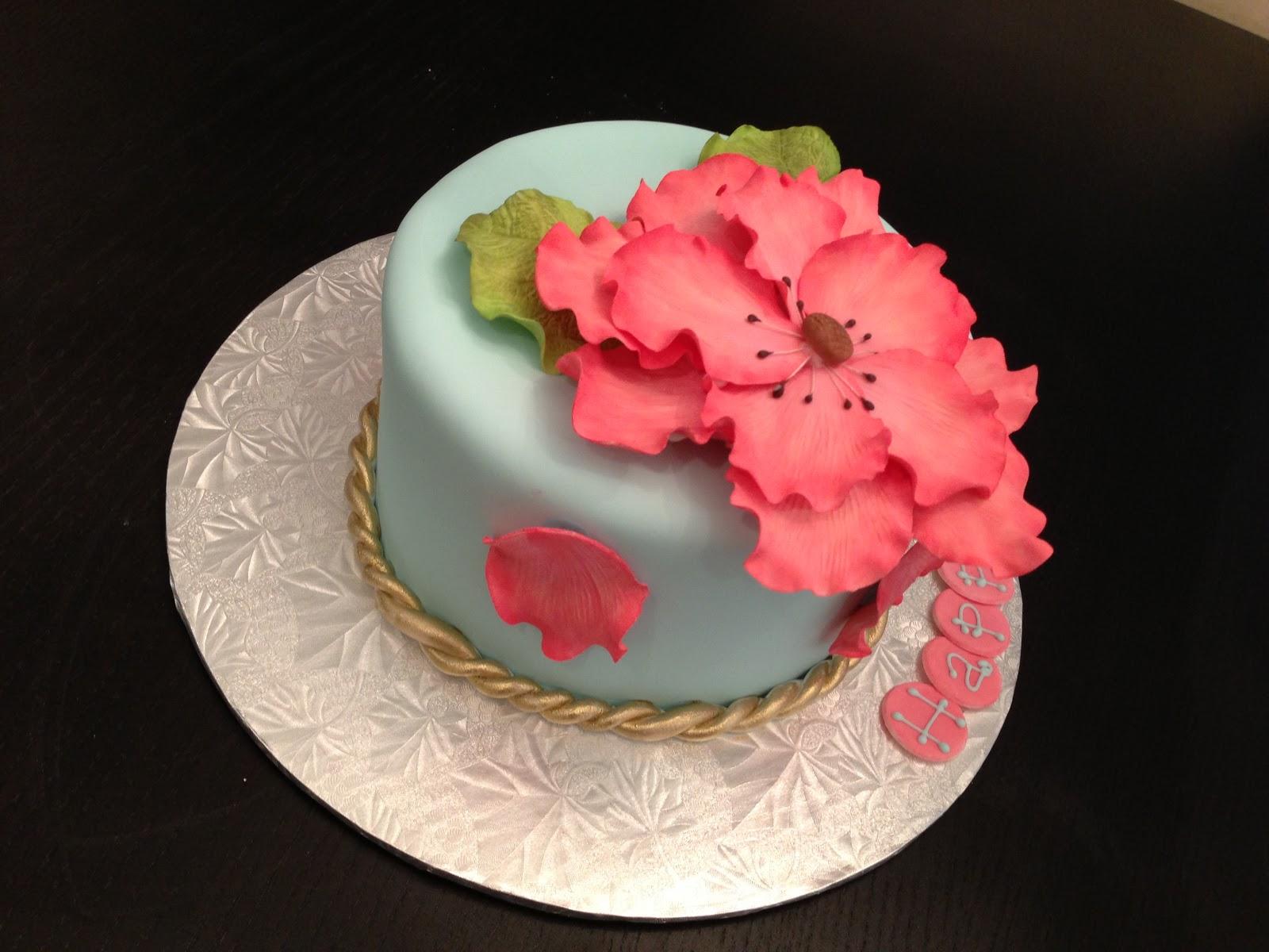 Cakes By Jess Pretty Flower Cake