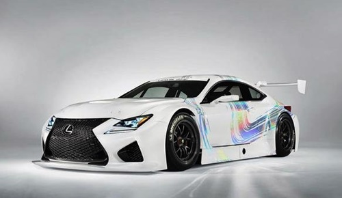2015 Lexus RC F GT3 Review Design