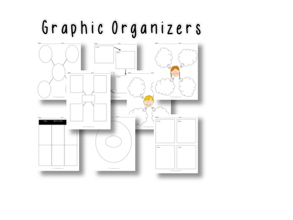 20 Primary Writing Prompts with Graphic Organizers