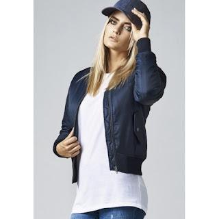 chaqueta bomber mujer clasica de urban classics