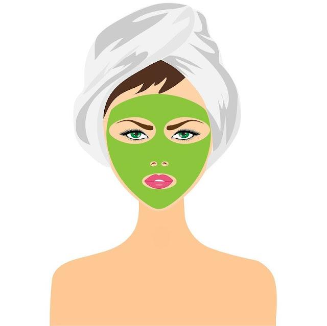 Masker Perawatan kecantikan Kulit dengan bahan Alami
