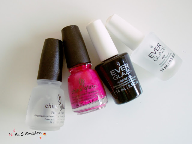 China Glaze, Ever Glaze y Ardell