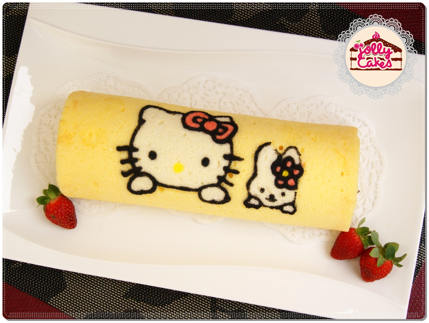 Jolly Cakes: Cartoon Character Japanese Roll Cake