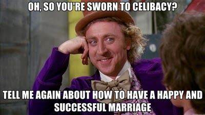 celibacy and marriage , the difference