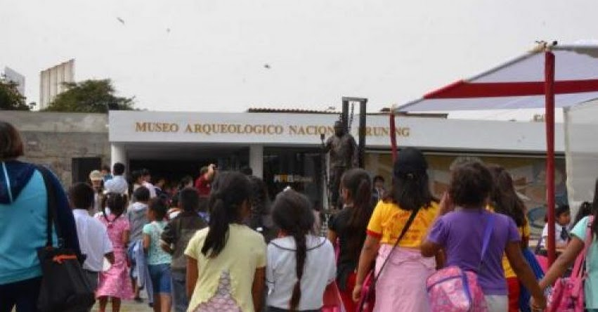 Mañana domingo ingreso libre a Museos de Lambayeque (Ley N° 30599)