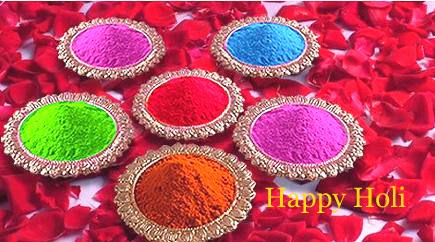 all colors together, Happy Holi to you