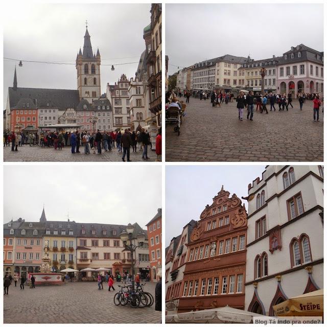 praça Hauptmarkt em Trier