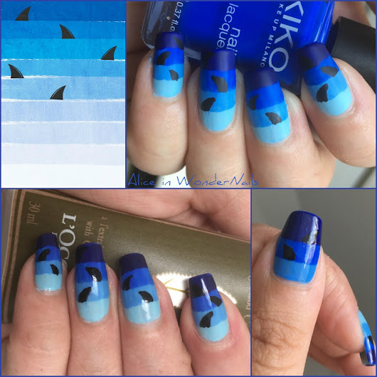 Alice in WonderNails: NAILS: Pattern Wednesday #204