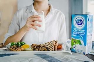 sarapan susu Dutch Lady PureFarm