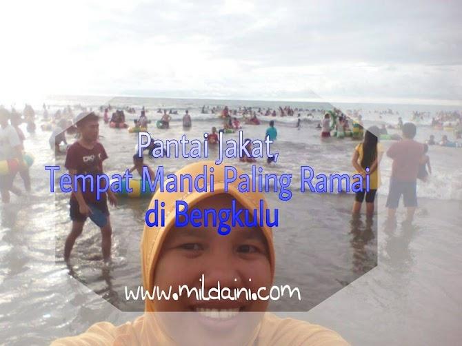 Pantai Jakat, Tempat Mandi Paling Ramai di Bengkulu