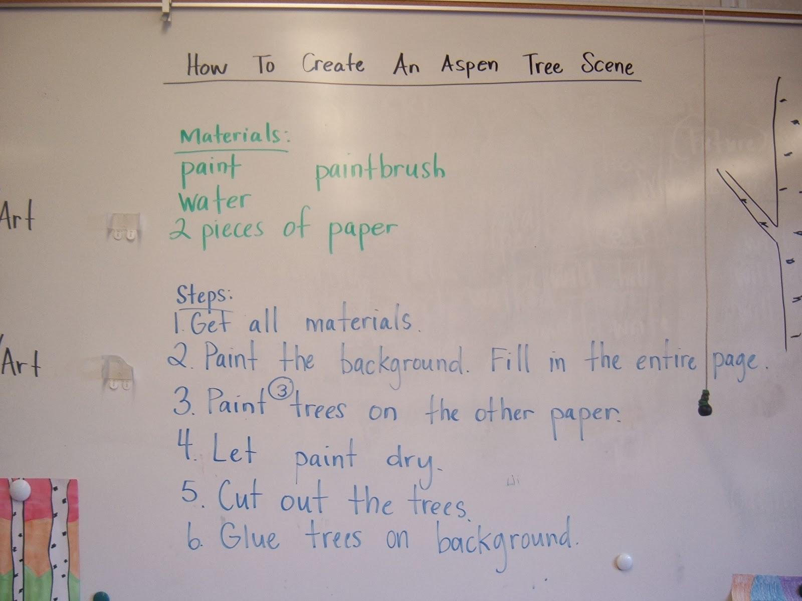 Mrs. Tullis' 2nd Grade Class: Verbs and Procedural Writing [ 1200 x 1600 Pixel ]