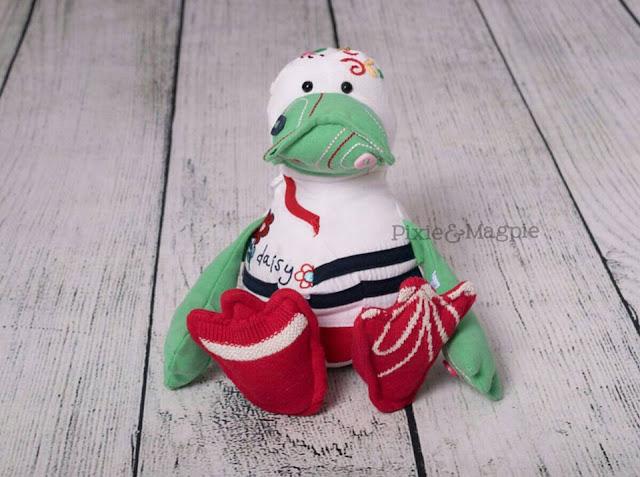 Pixie&Magpie handmade duck