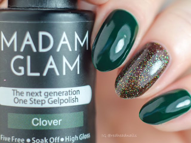 "Madam Glam One Step Gelpolish ""I Dare You"" swatch"