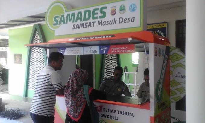 Layanan Samades di Kelurahan Kalimulya Diserbu Masyarakat