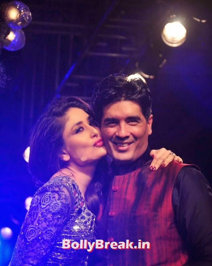 Kareena Kapoor Khan, Manish Malhotra, Pics of Manish Malhotra Show at Lakme Fashion Week 2014