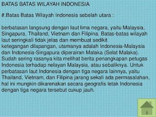 Sebutkan dan Jelaskan Batas Batas Wilayah Negara Indonesia Berdasarkan Letak Geografis