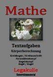 Textaufgaben Kegelstumpf Mathematik PDF