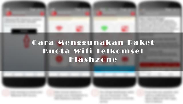 Cara Menggunakan Paket Kuota Wifi Telkomsel Flashzone