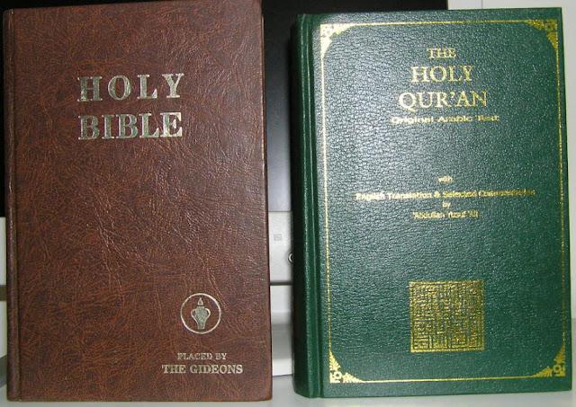 bible vs quran chart