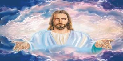 imagem de jesus com braços abertos