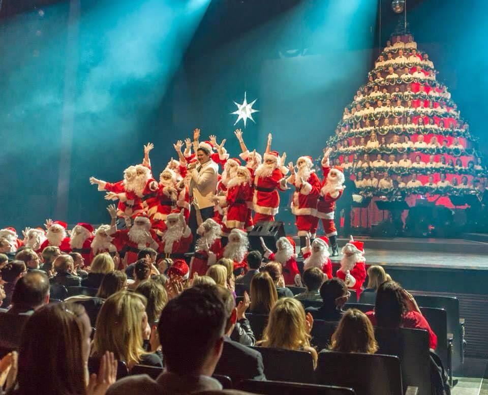 Marty's Musings!: Edmonton Singing Christmas Tree 2014