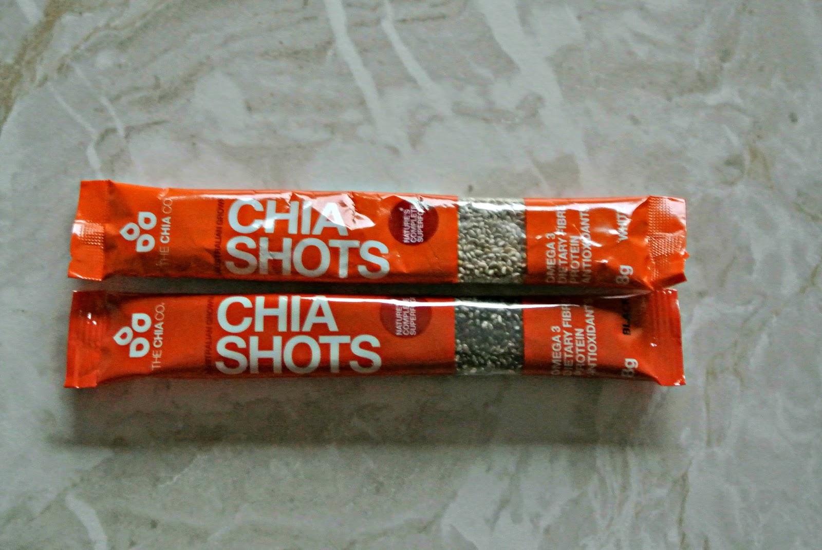 Chia Shots Degustabox