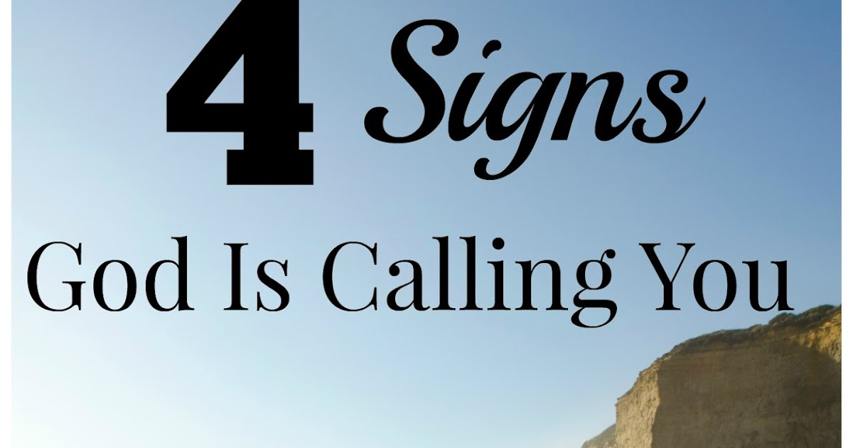Hungry for God: 7 Signs God Is Calling You, Part I