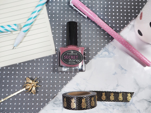 Essence secret stories nail polish 01 can you keep my secret