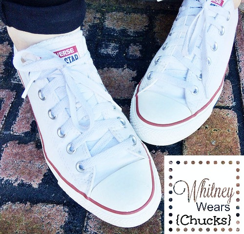 White converse, chucks