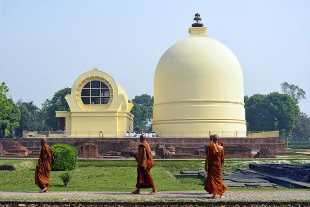 Mahaparinirvana Temple gautam buddha kushinagar