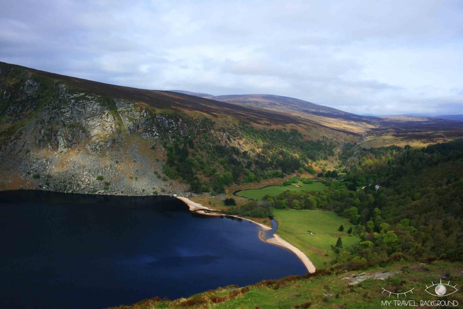 My Travel Background : les Wicklow Moutains - Lac Guinness