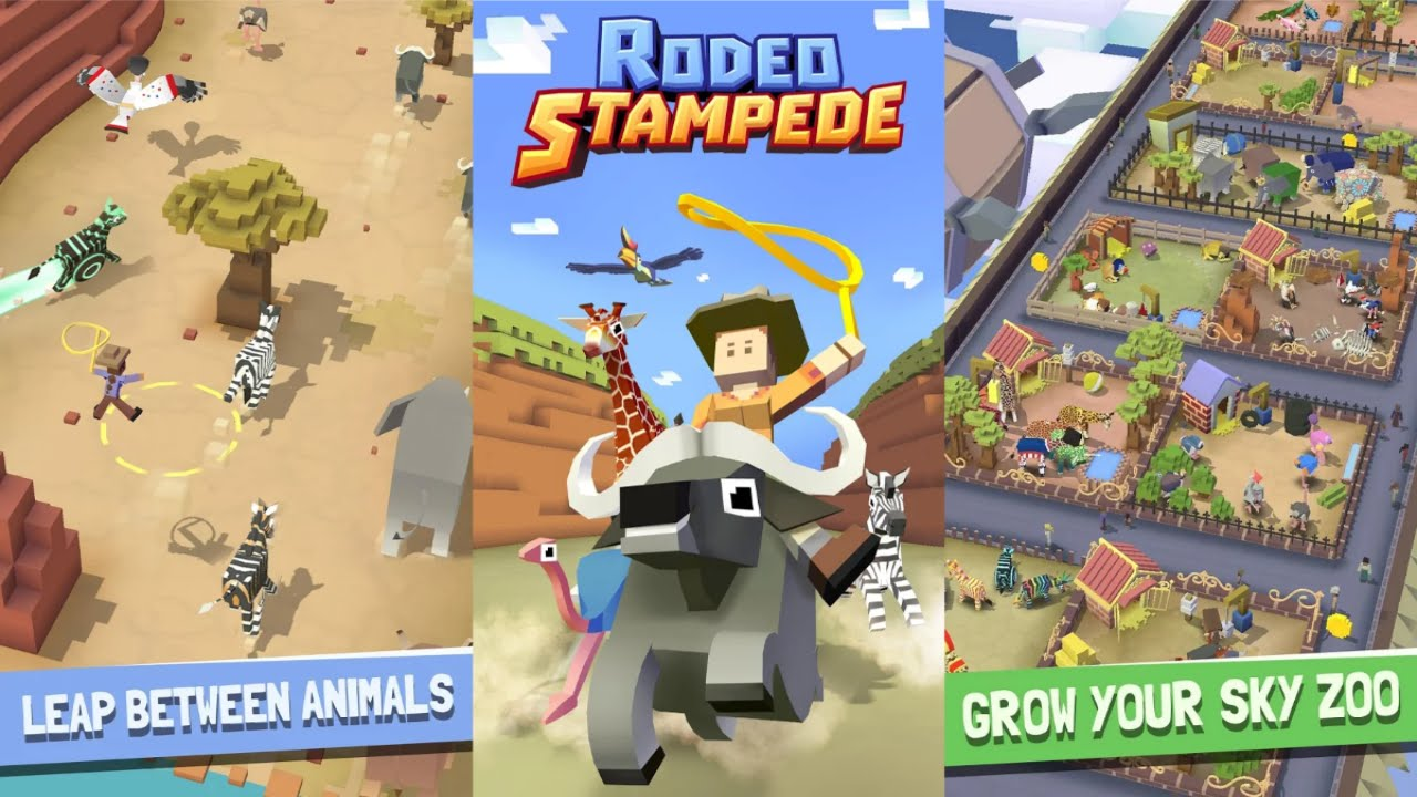Rodeo Stampede Sky Zoo Safari Mod Unlimited Money 1 21