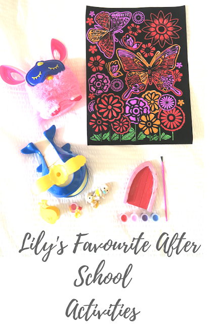 Lily's Favourite After School Activities